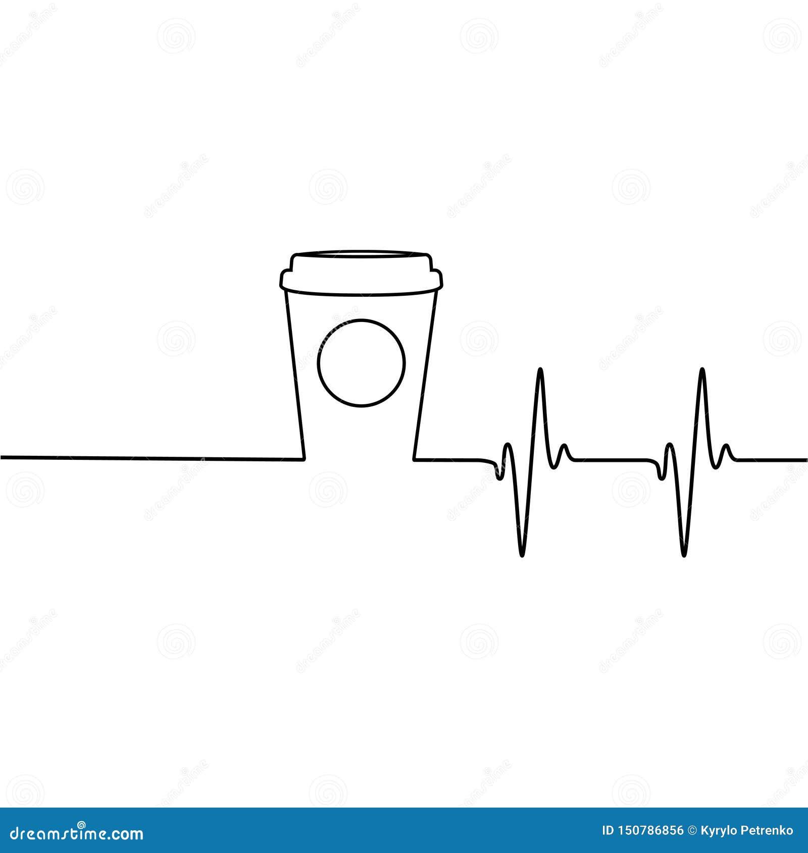Café que le despierta encima de logotipo original