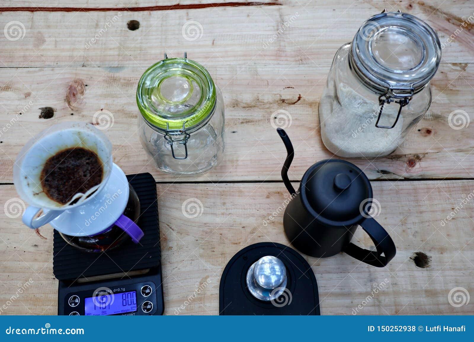 Café que prepara, paso a paso