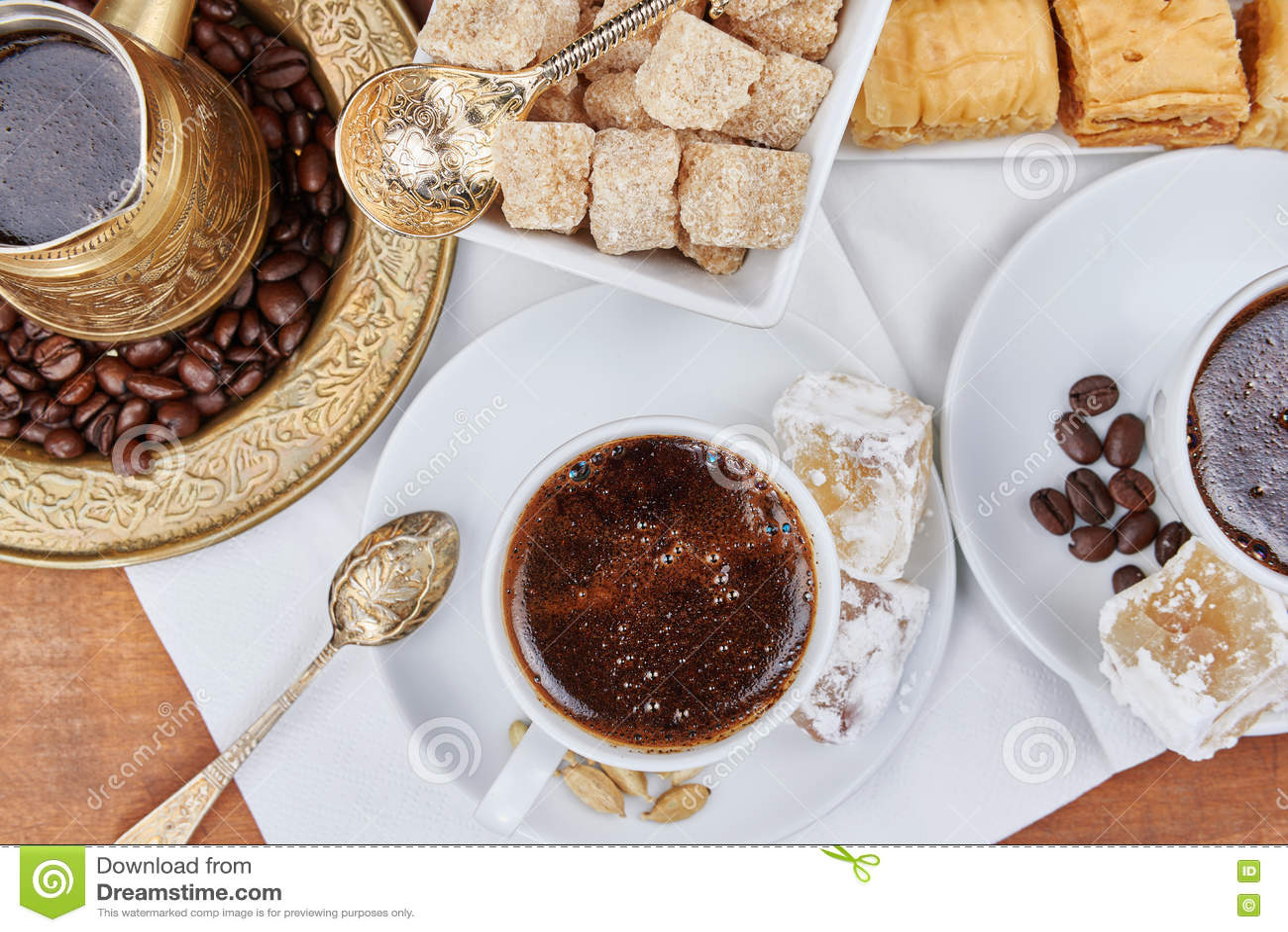 Café sólo turco tradicional