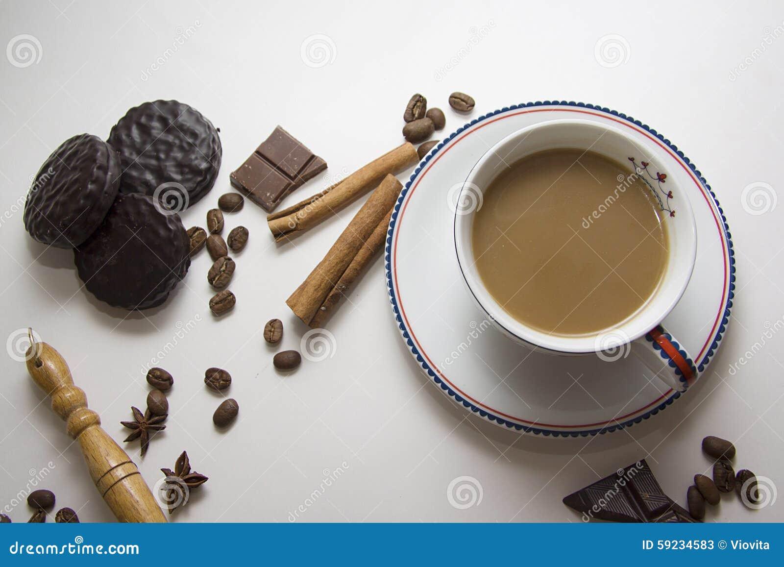 Download Café y fondo 38 del choco imagen de archivo. Imagen de habas - 59234583