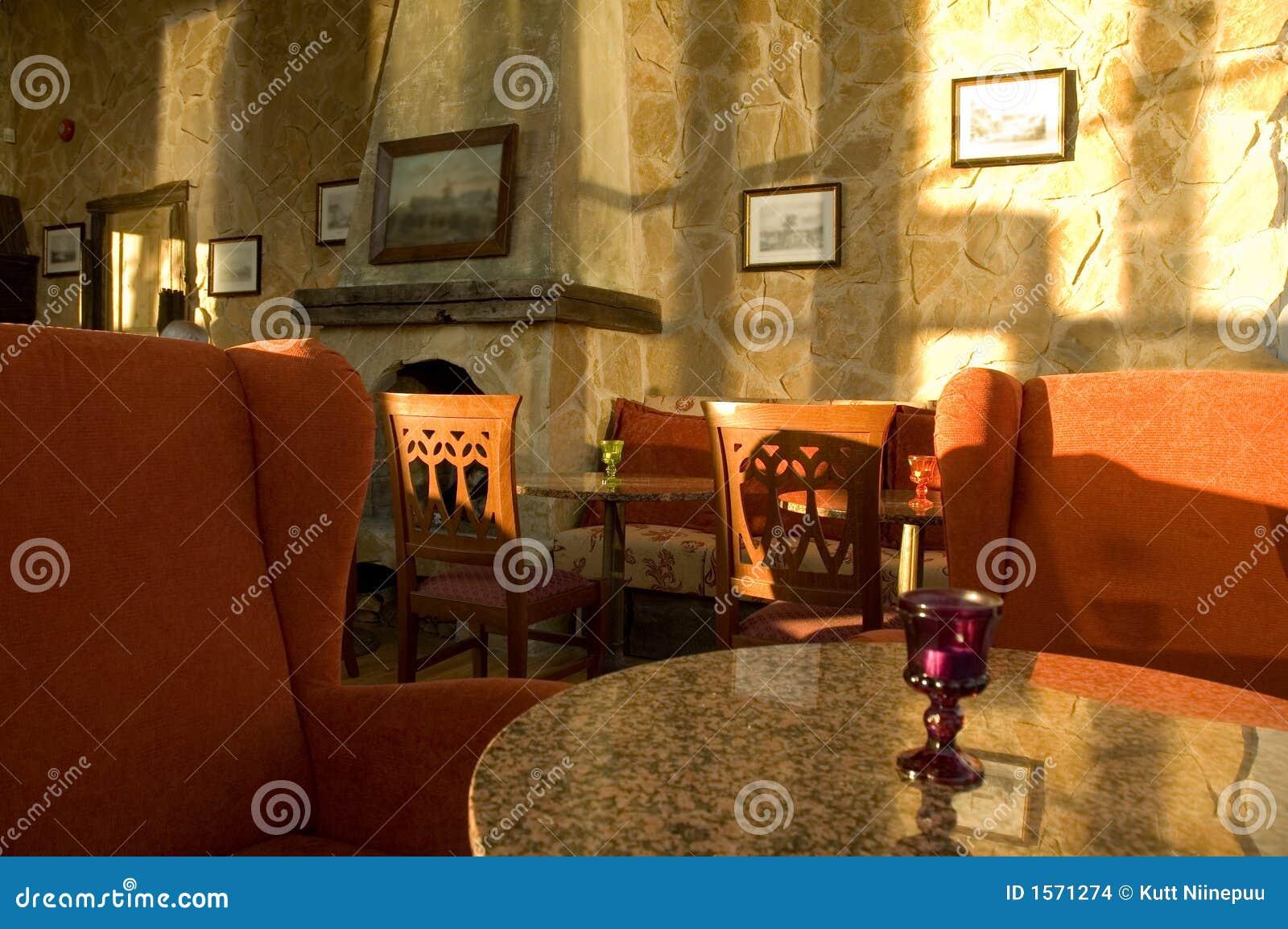 Cafétéria confortable