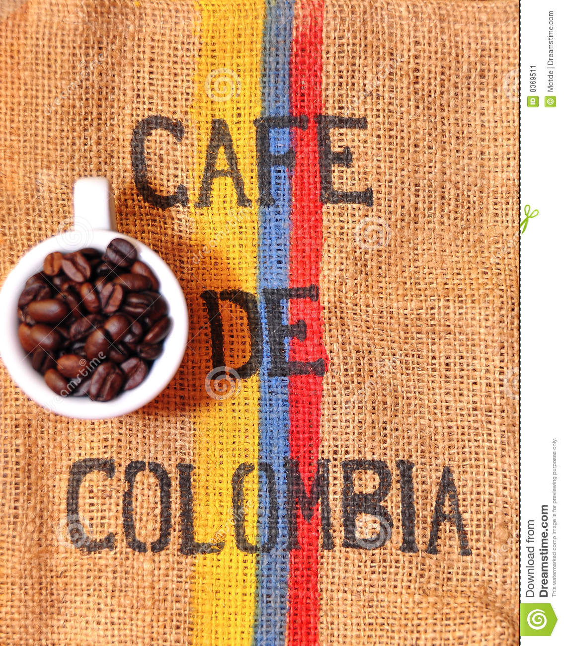 Cafe En Grain Colombie