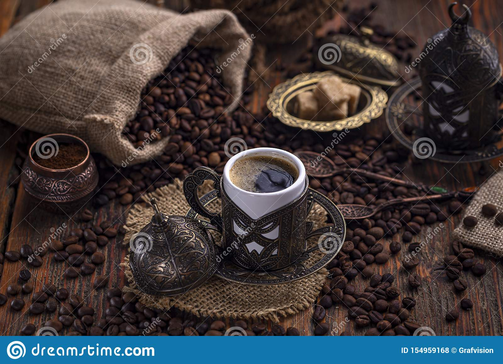 Caf? turc traditionnel