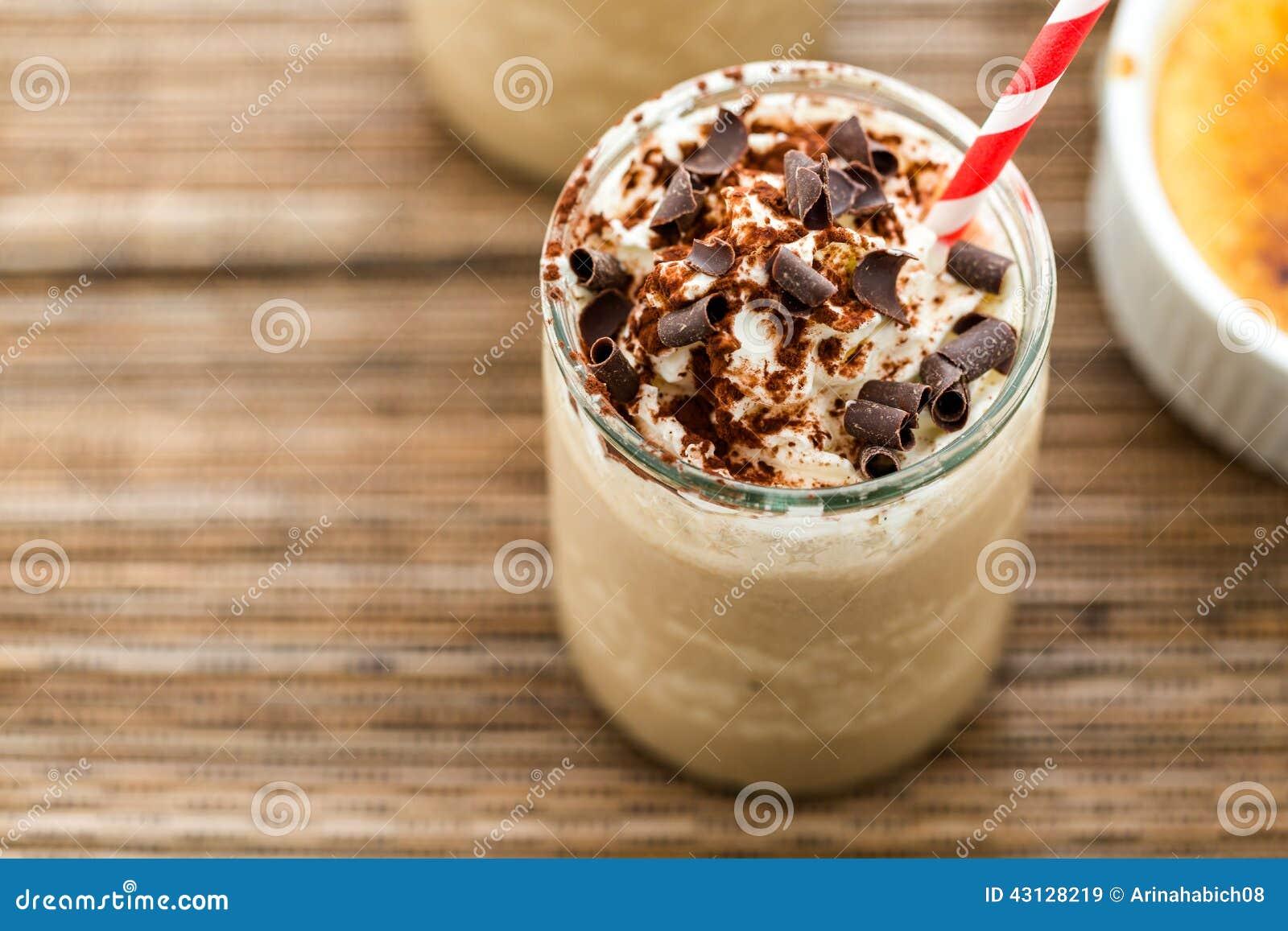 cafe creme brulee cold drink stock image image of expresso sugary 43128219. Black Bedroom Furniture Sets. Home Design Ideas