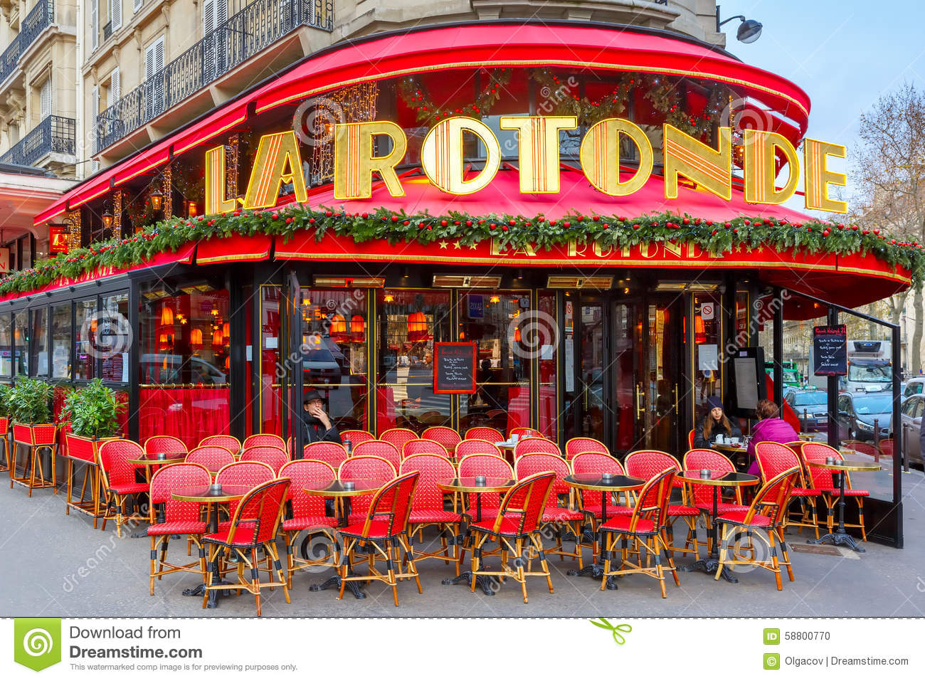 Cafe La Rotonde A Paris