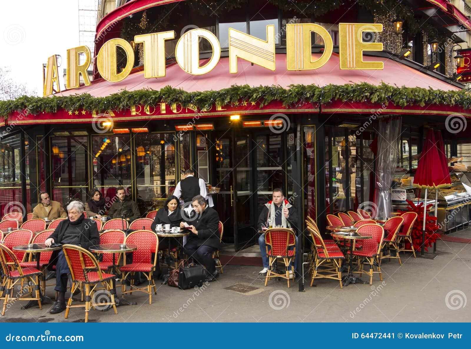 La Rotonde Paris  Cafe