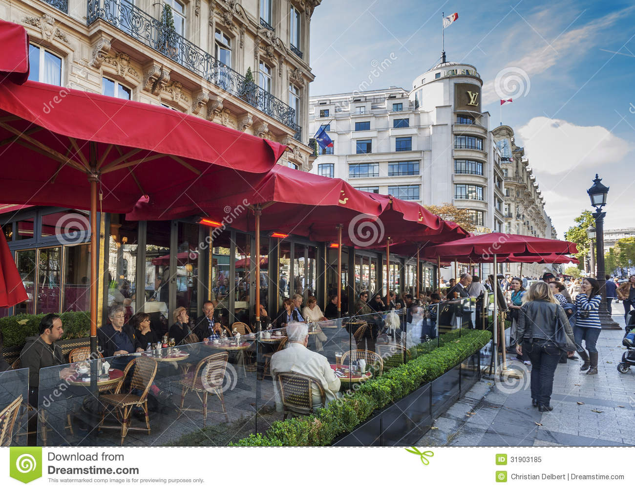 Cafe Fouquet Editorial Image Image Of Travel Fouquet