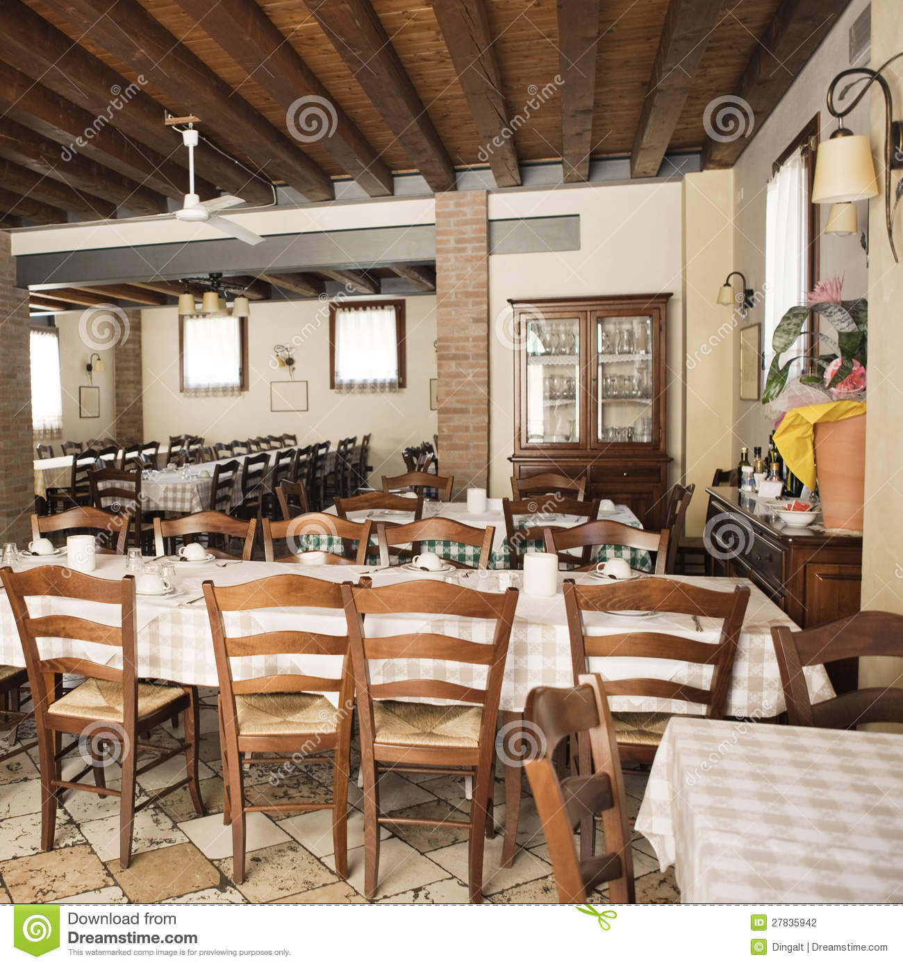 Cafe Interior Stock Photography