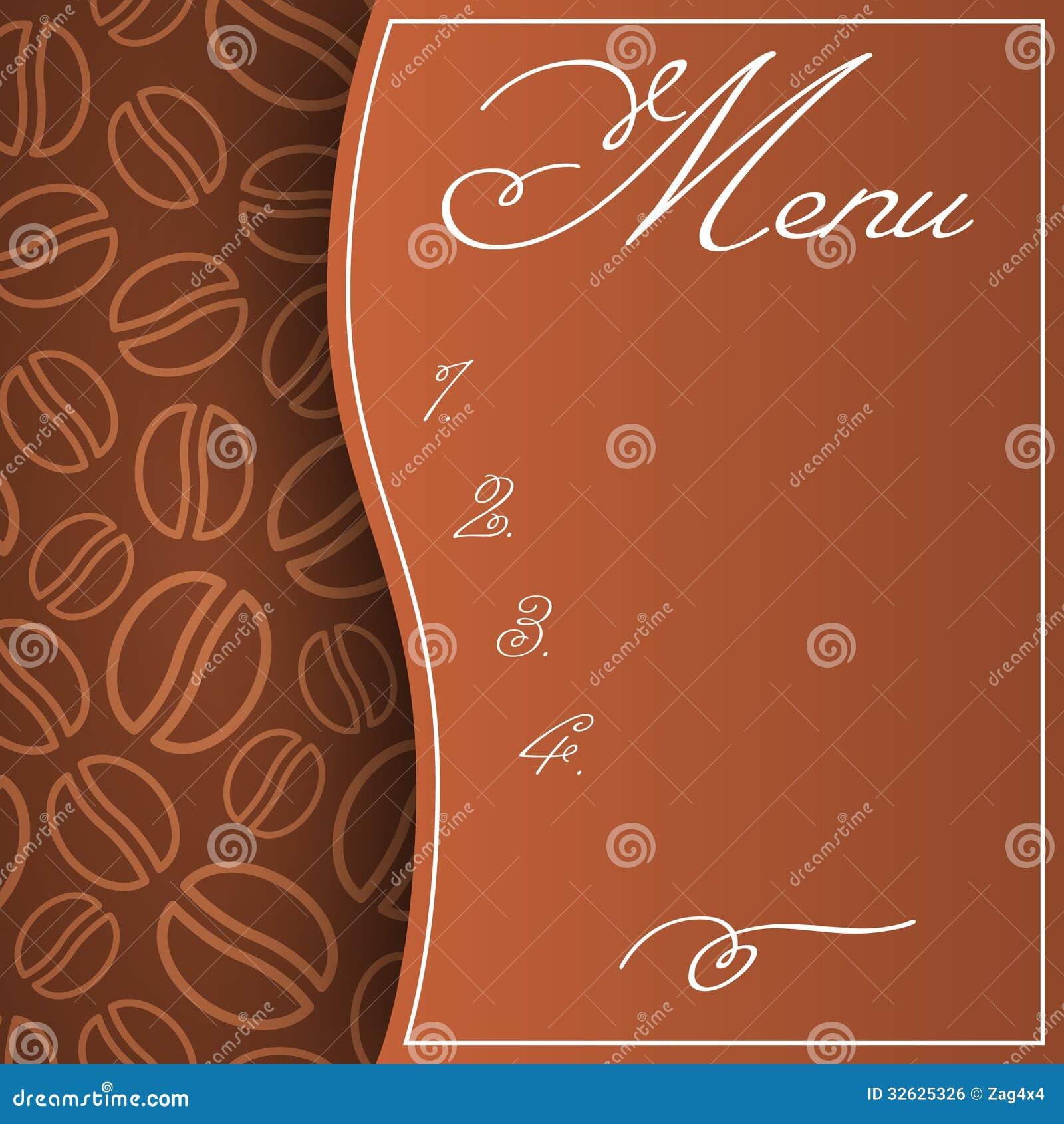Cafe Menu Royalty Free Stock Image Image 32625326