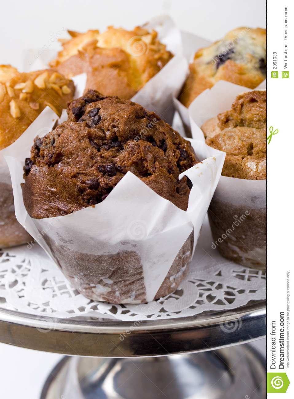 Cafe Muffins Royalty Free Stock Images Image 2091039