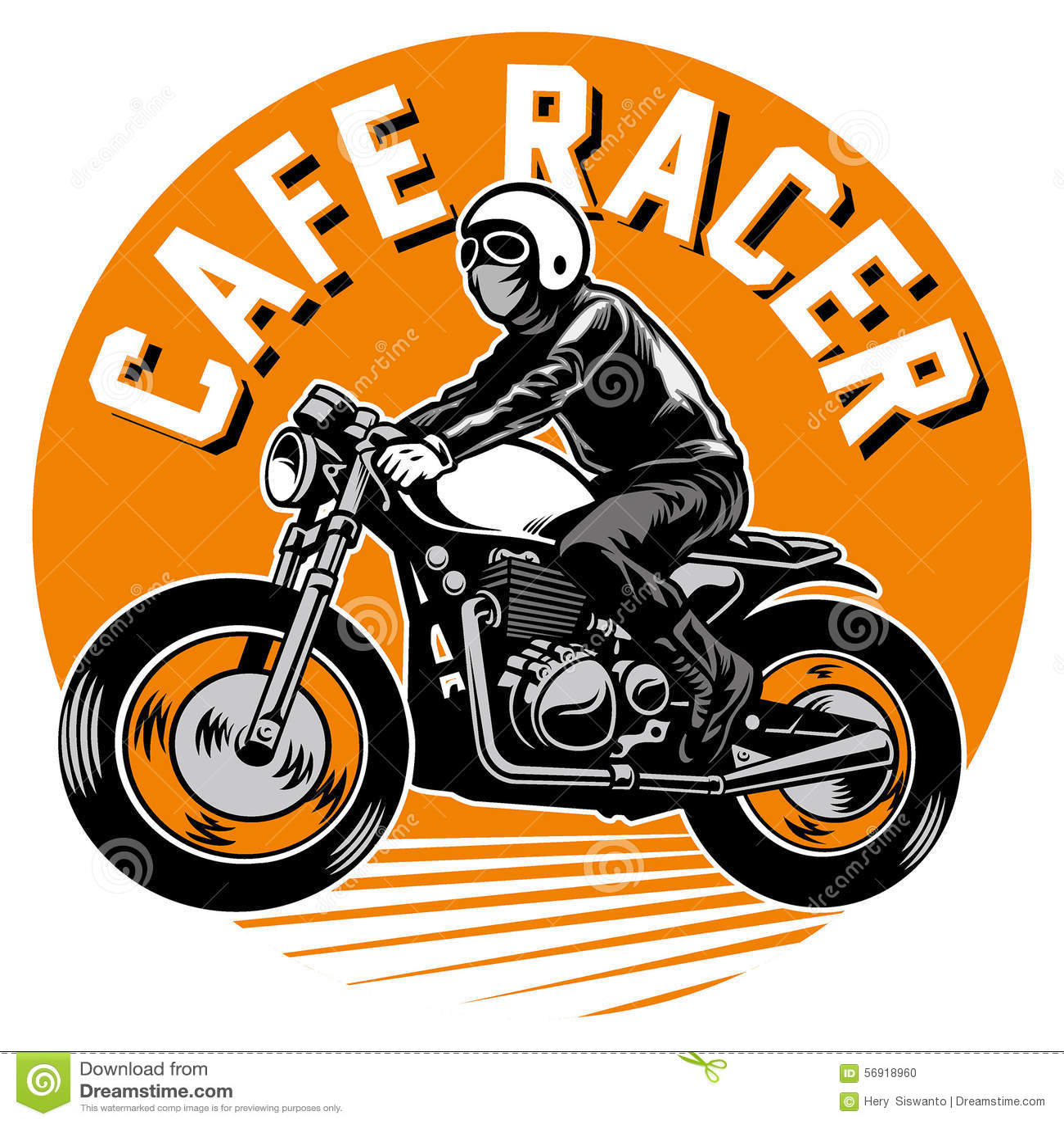 Cafe Racer Vector
