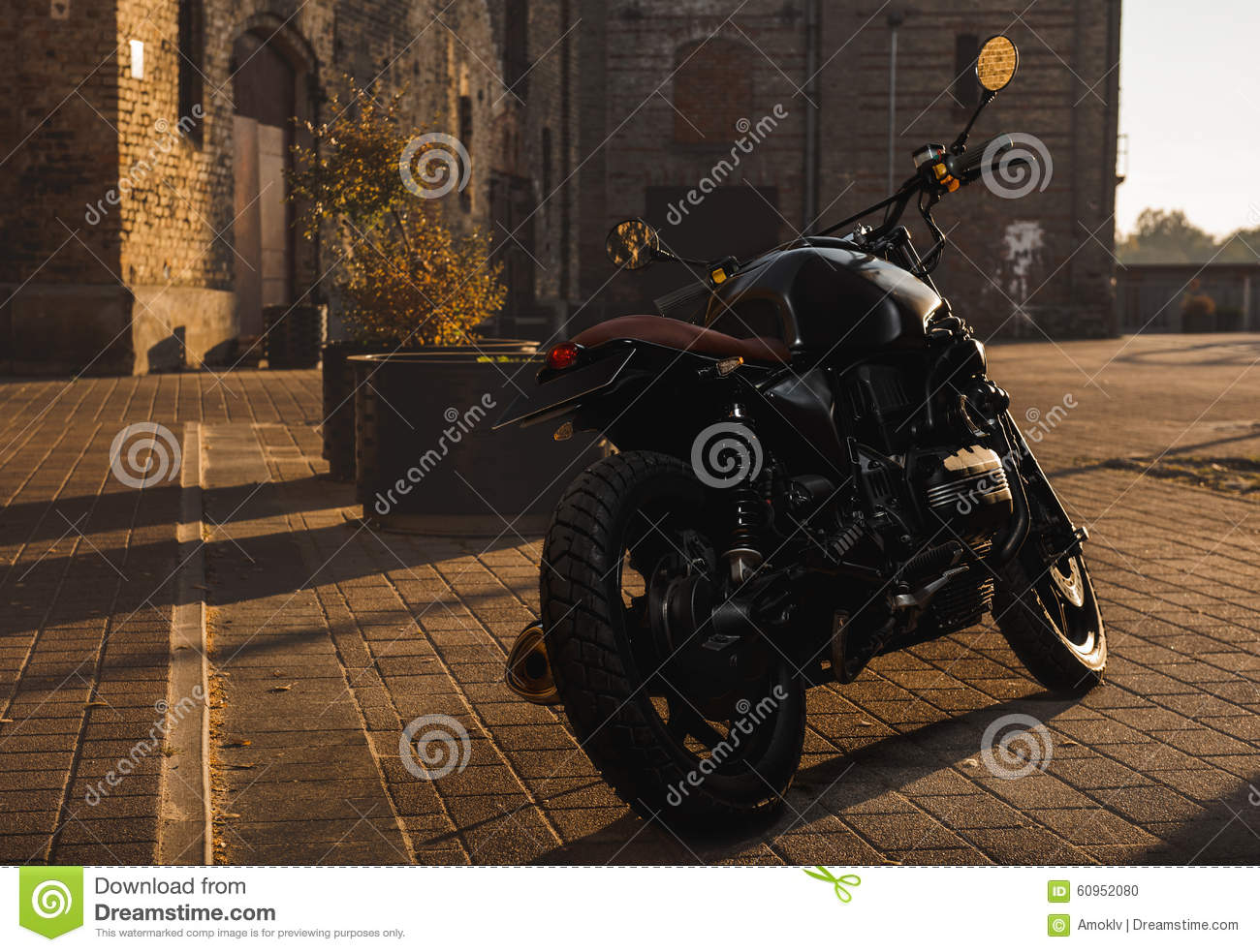 Cafe-racer motorcycle