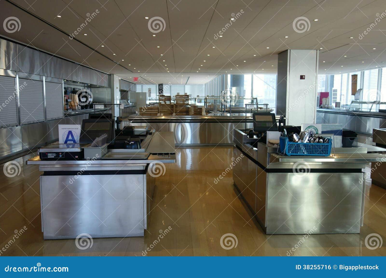 Cafetería vacía