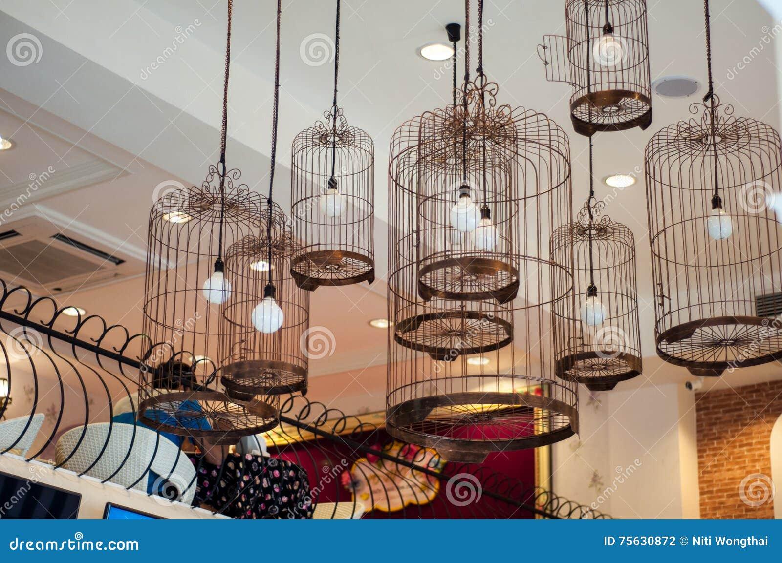 Cafeter As De La Decoraci N Estilo Del Vintage Foto De