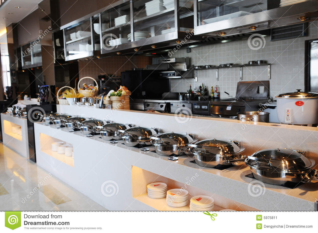 The Cafeteria Buffet And Kitchen
