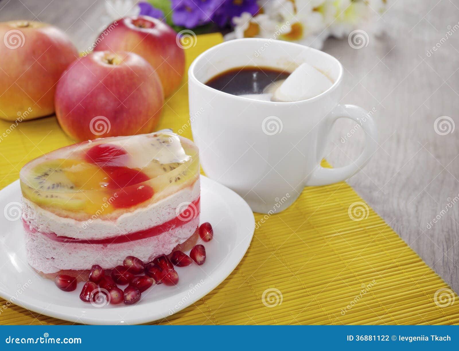 Download Caffè Caldo E Dolce Saporito Fotografia Stock - Immagine di dieta, crema: 36881122