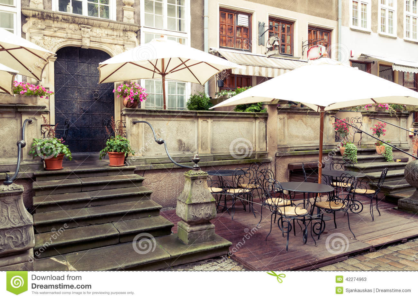 Caffè della via di Danzica Mariacka