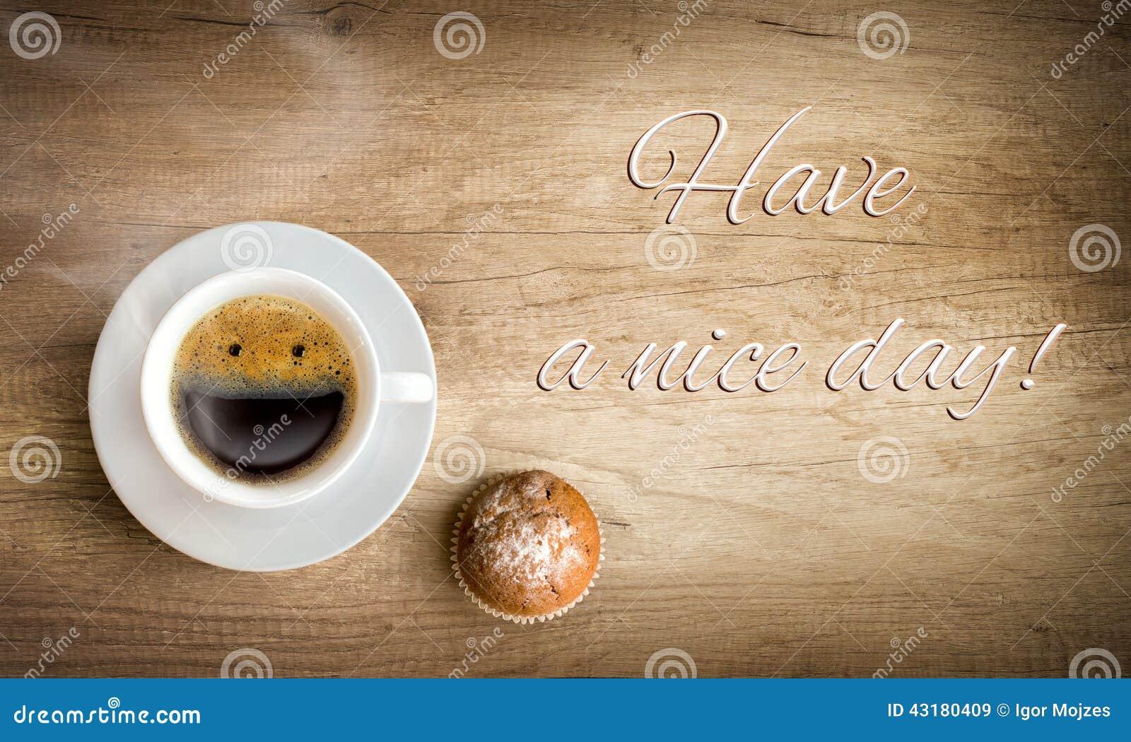 Caffè di mattina con la nota