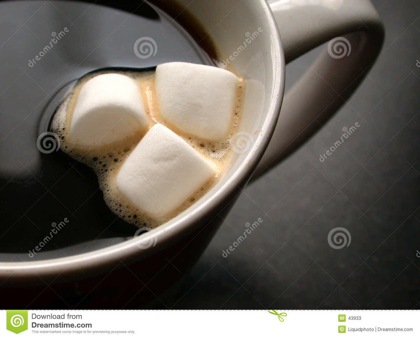 Caffè e caramelle gommosa e molle