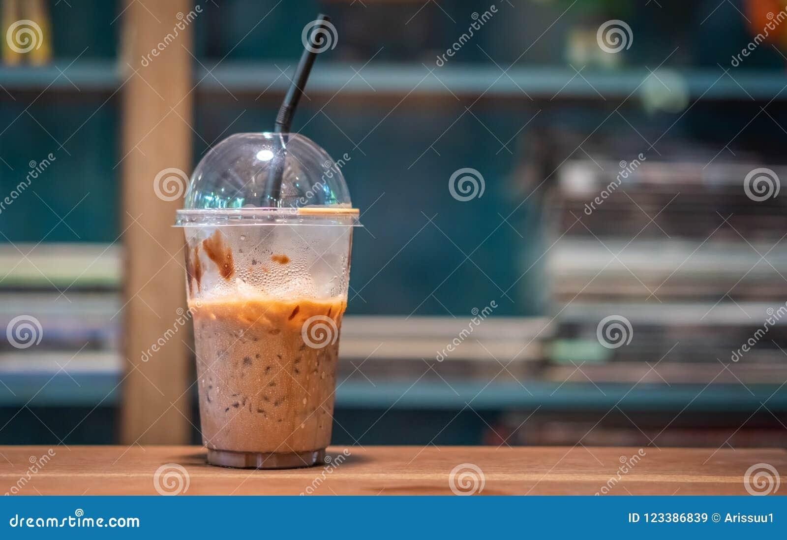 Caffè ghiacciato fresco saporito della moca