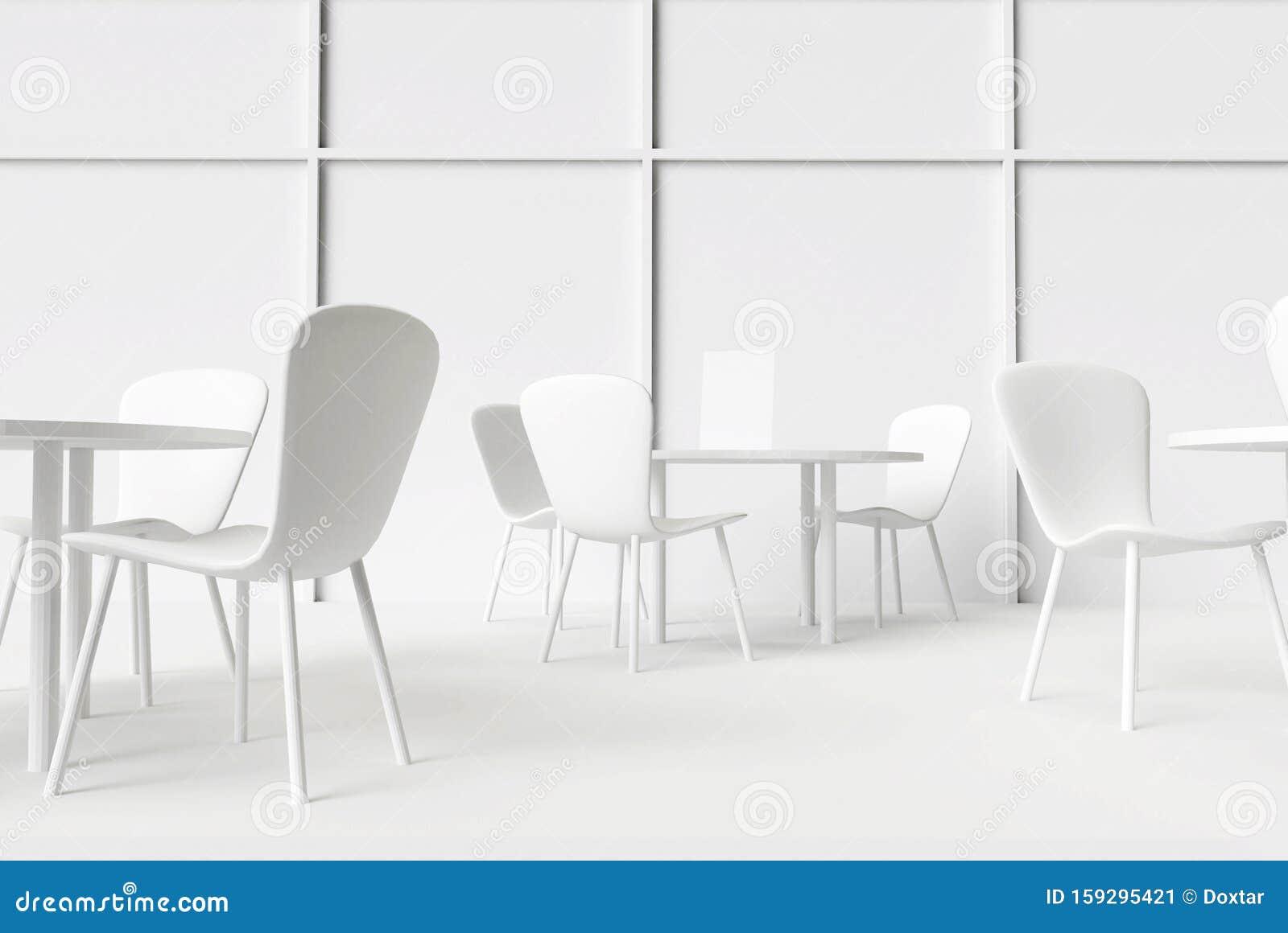 Caffe Interno O Ristorante All Interno Tavoli E Sedie A 3d Illustrazione Di Rendering Illustrazione Di Stock Illustrazione Di Interno Moderno 159295421
