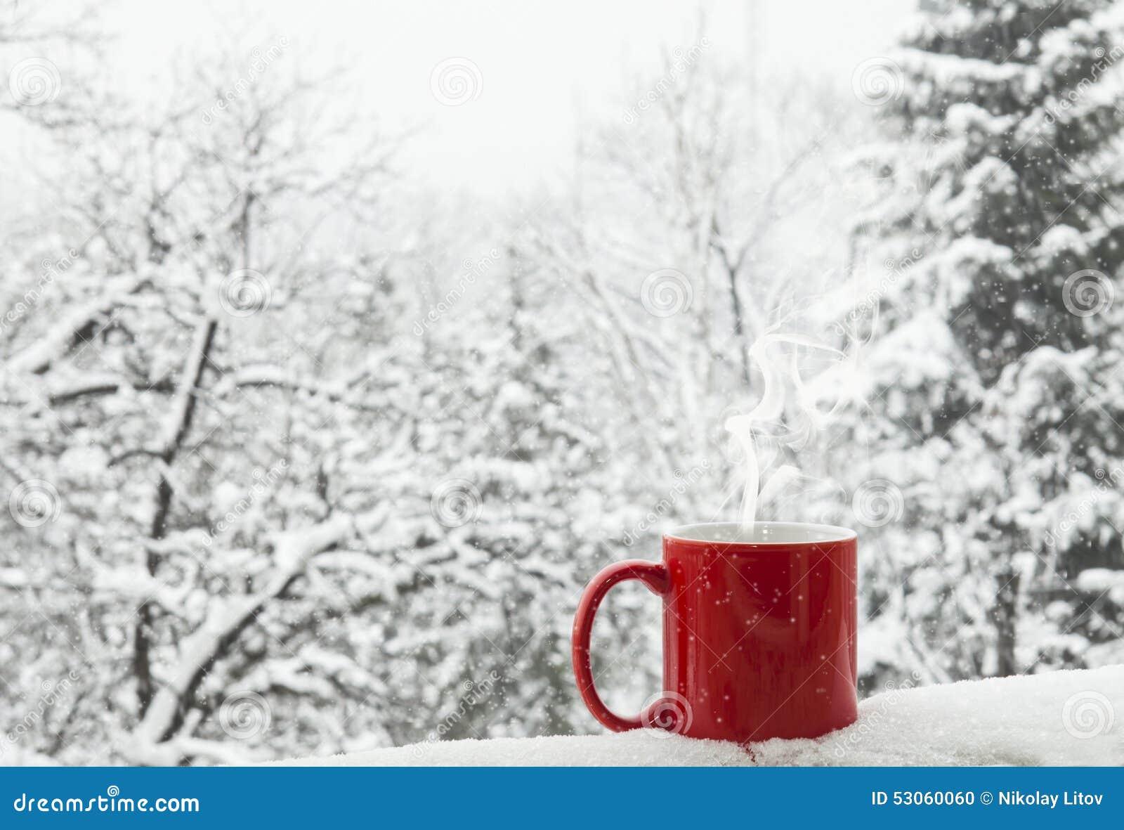 Caffè nella neve