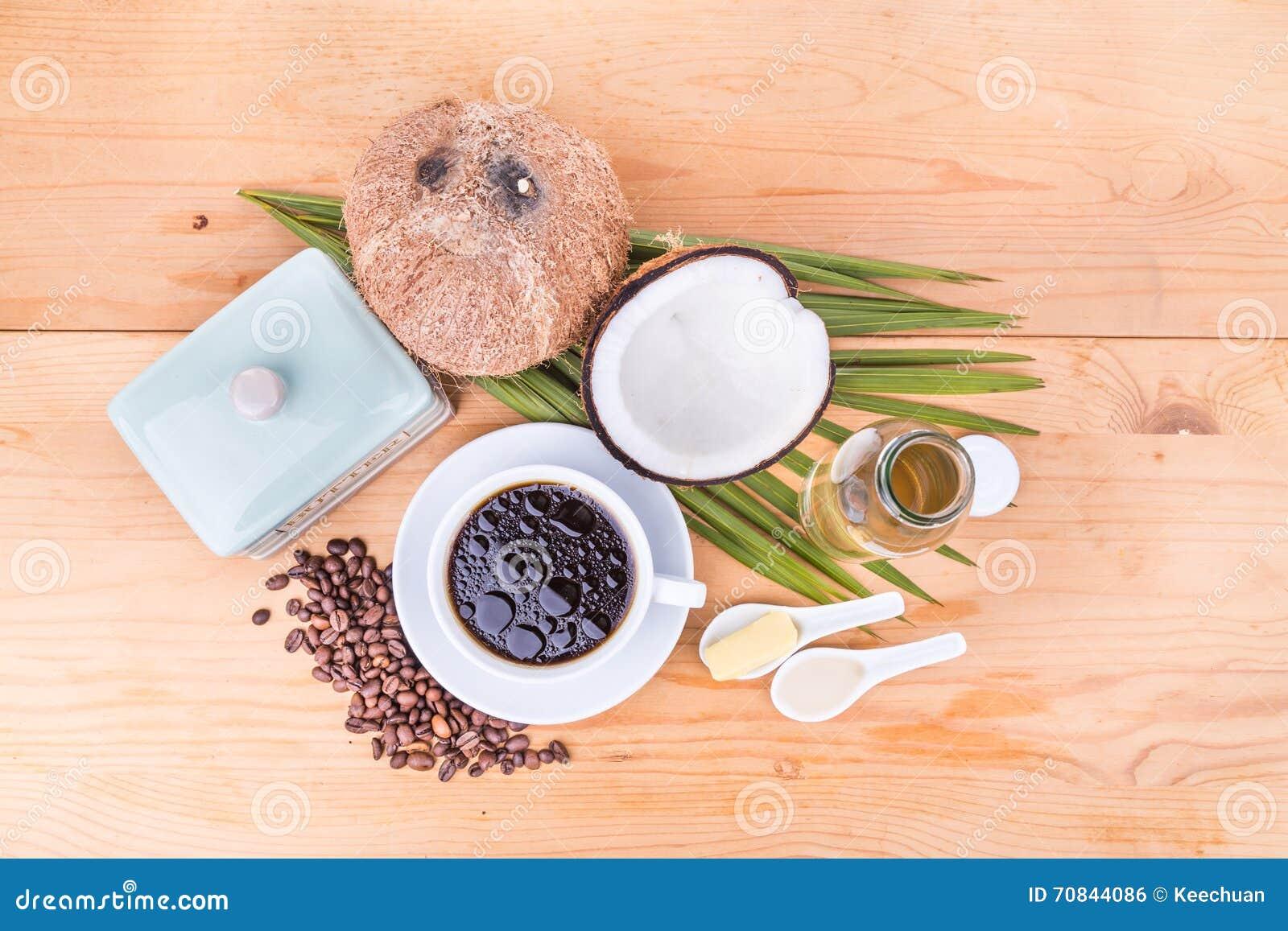 dieta al burro al caffè e olio di cocco
