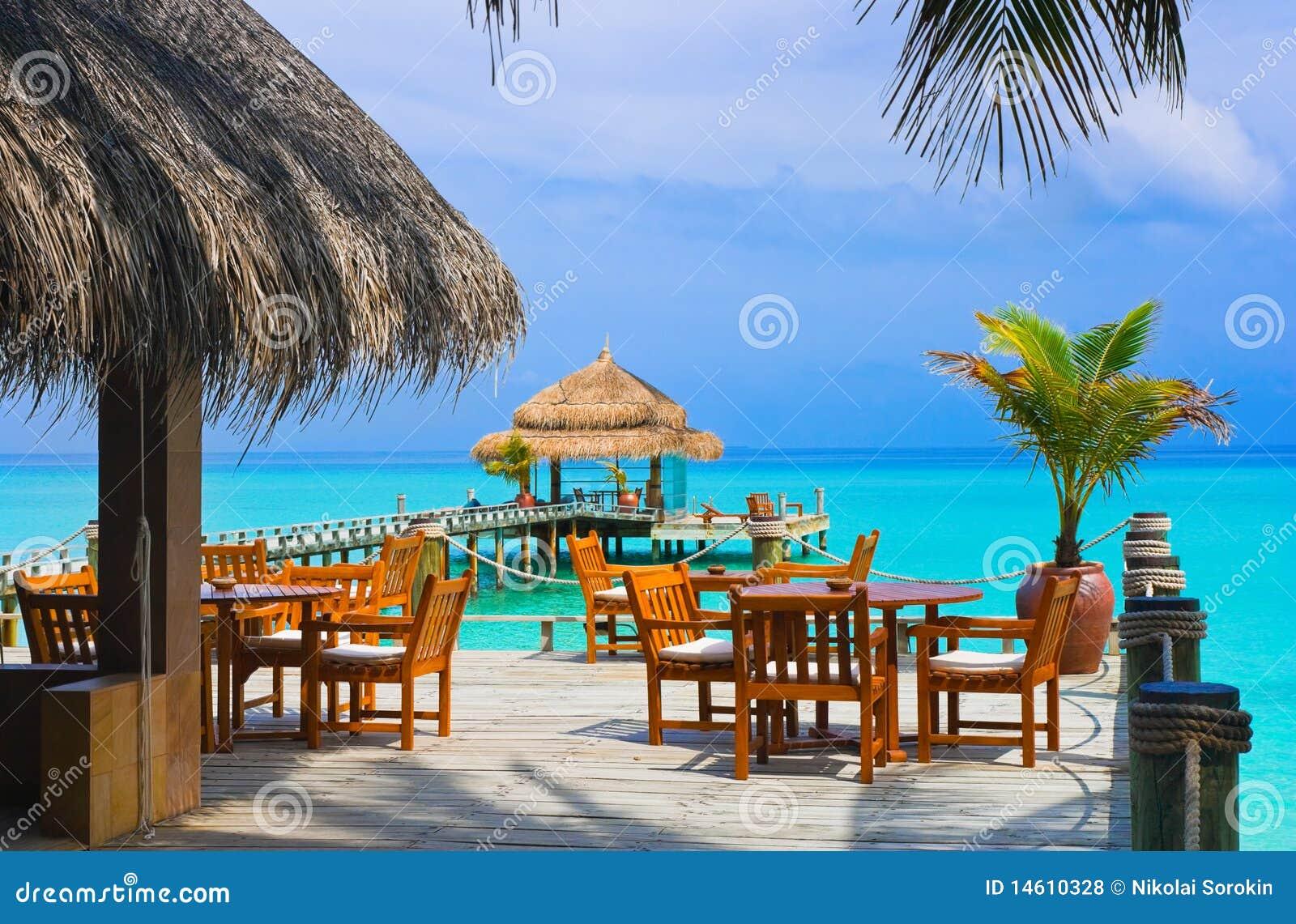 Caffè sulla spiaggia