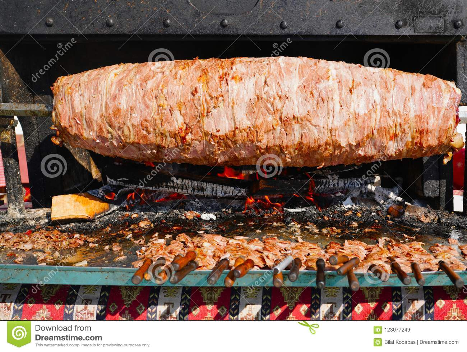 https www dreamstime com cag kebab famous erzurum city turkey image123077249