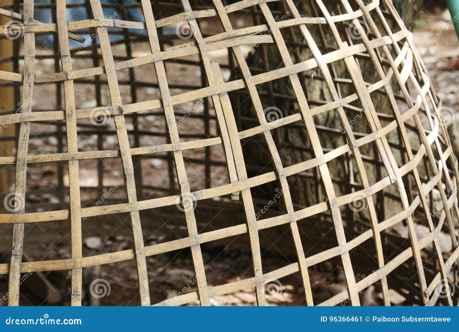 Cage de poulet provisoire en Thaïlande