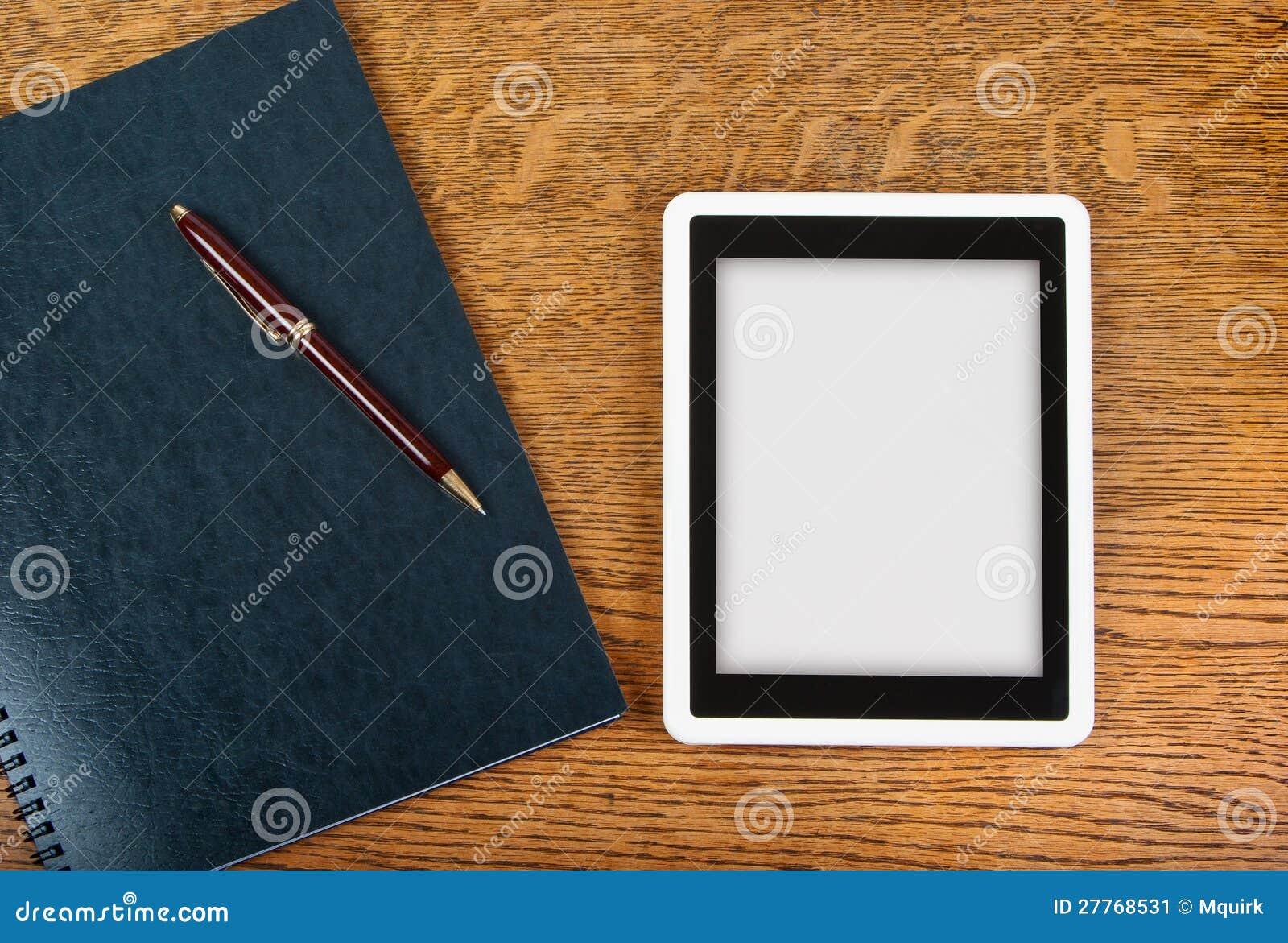 Cahier et tablette