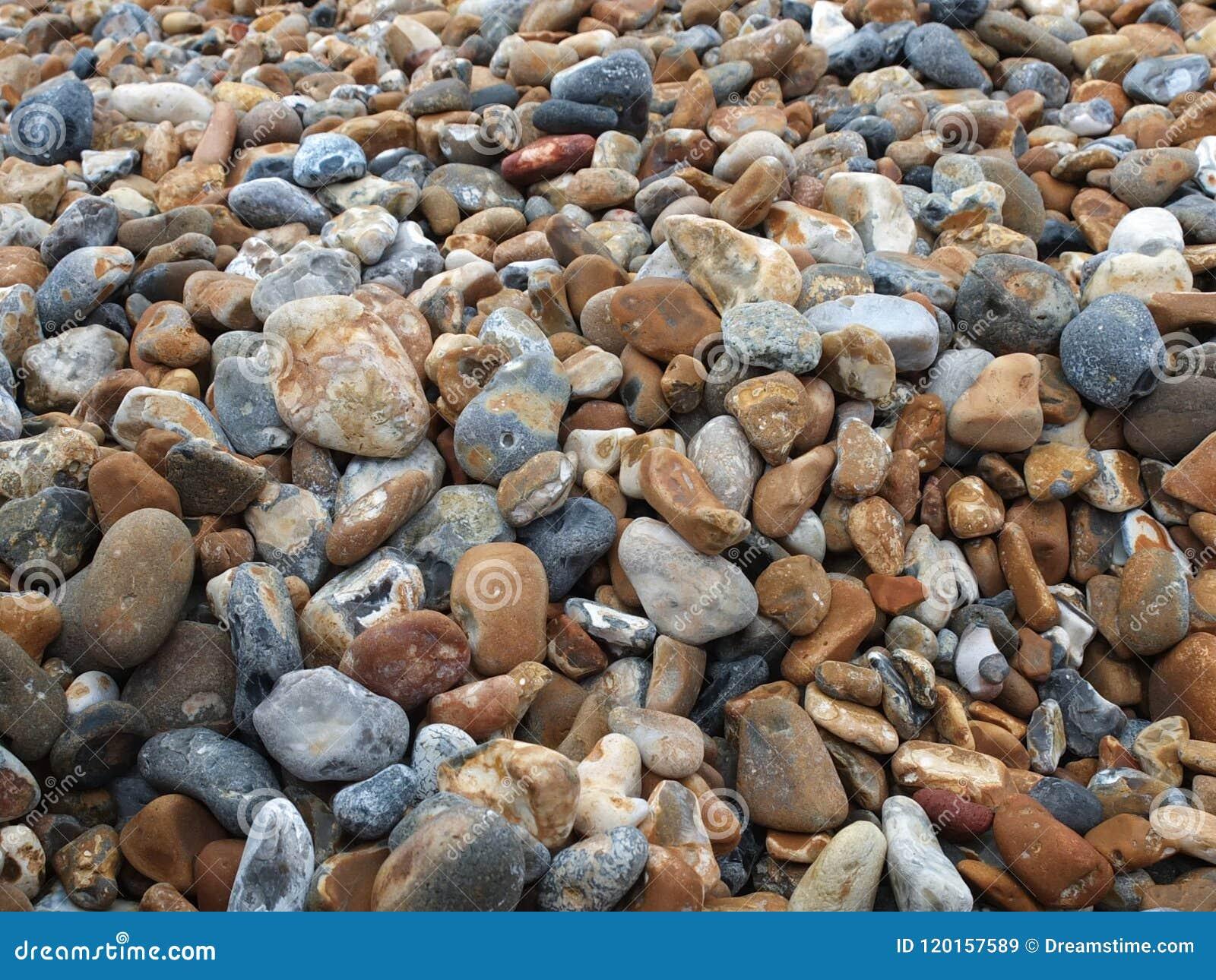Cailloux à la plage