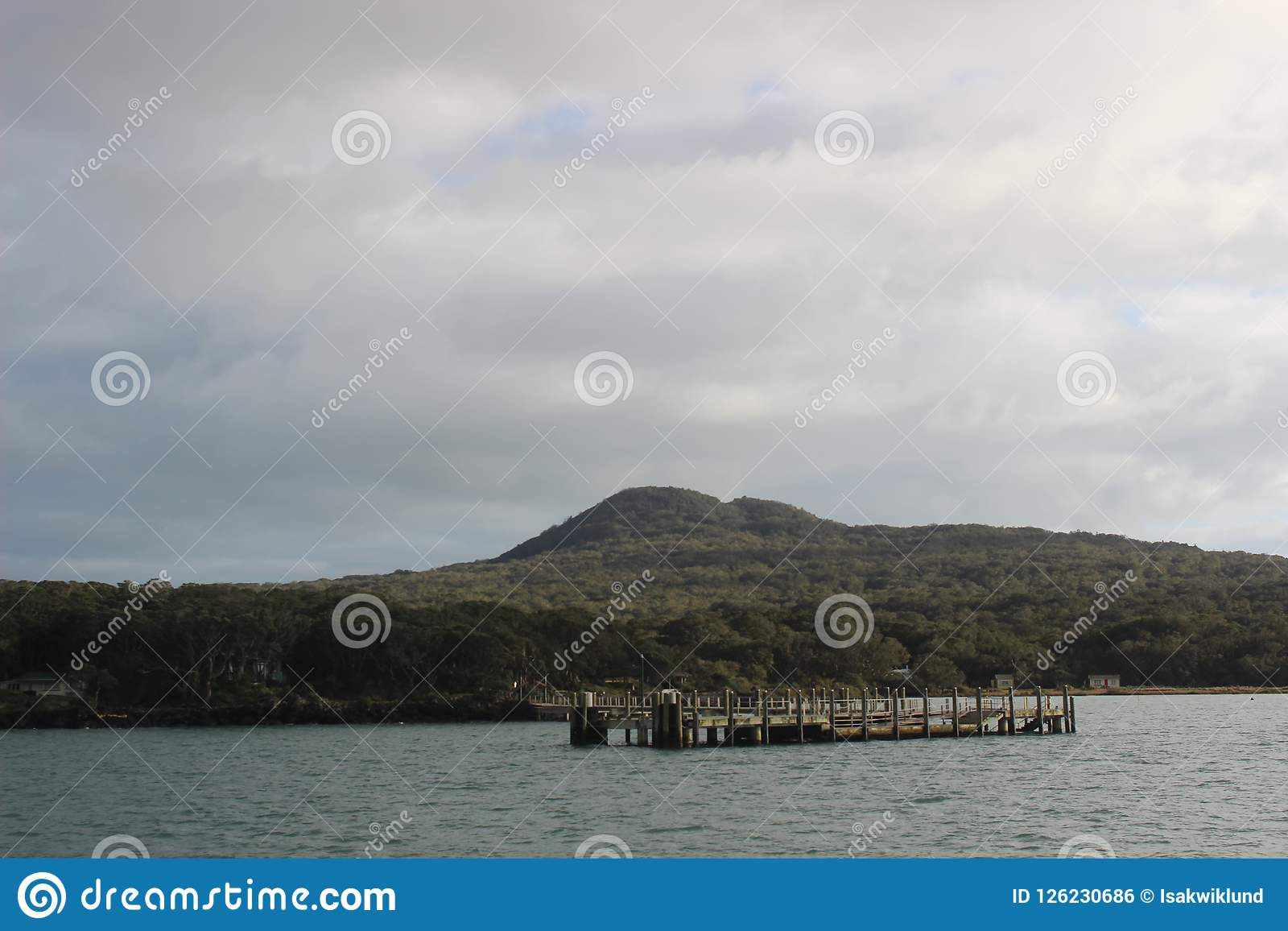 Cais de Rangitoto, baía de Hauraki, Auckland