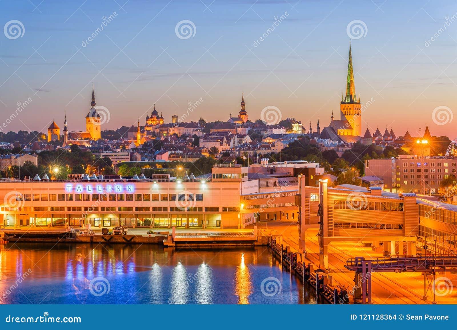 Cais de Tallinn, Estônia