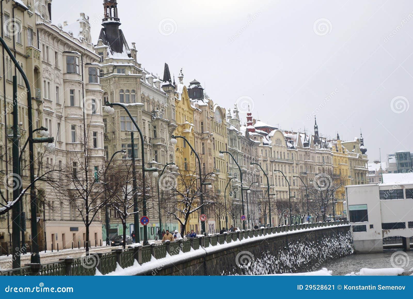 Cais no centro de Praga