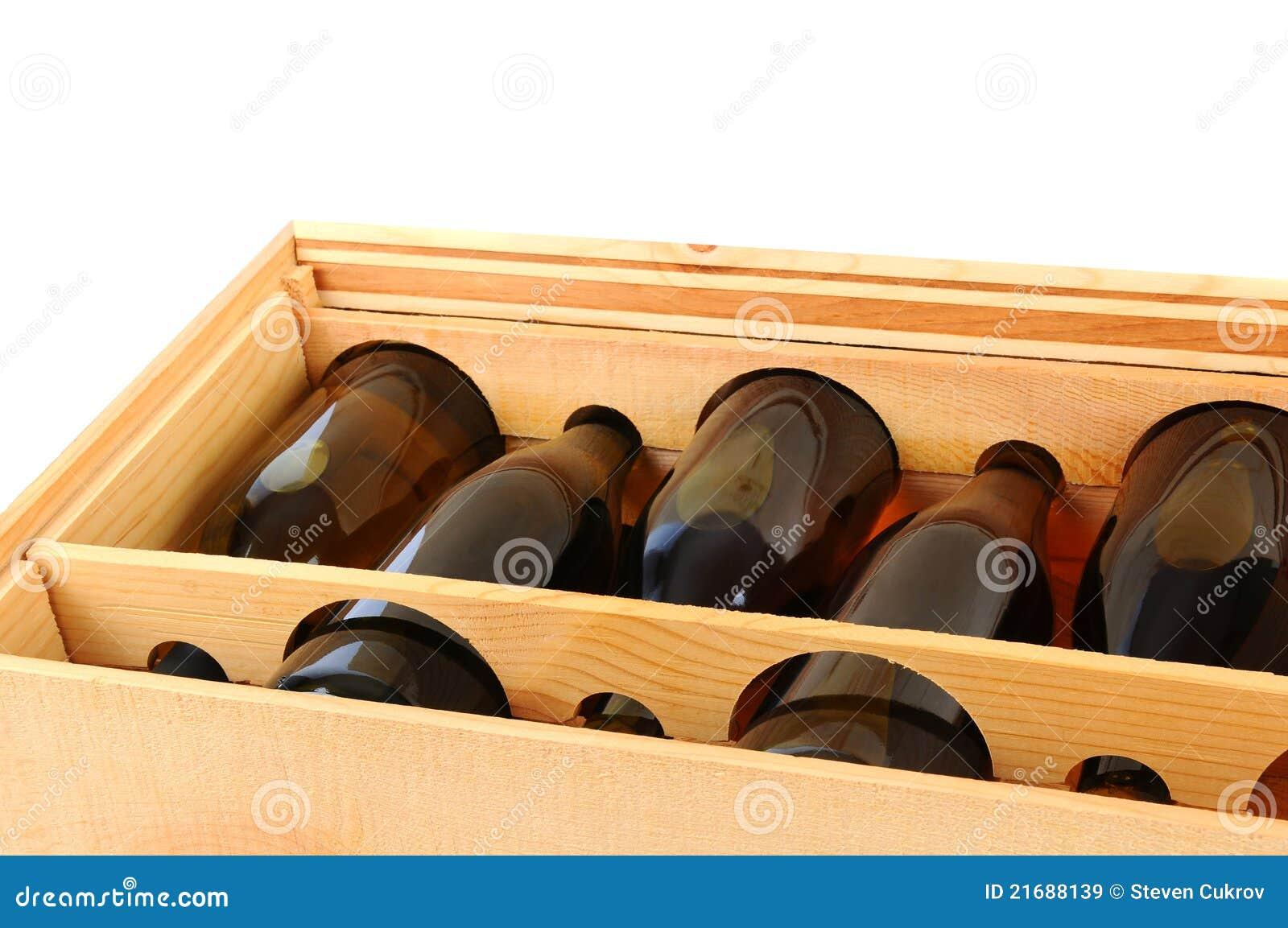 caisse de bouteilles de vin de chardonnay images libres de droits image 21688139. Black Bedroom Furniture Sets. Home Design Ideas