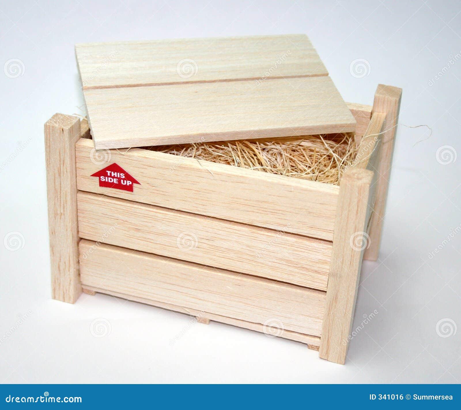 caisse en bois image libre de droits image 341016. Black Bedroom Furniture Sets. Home Design Ideas
