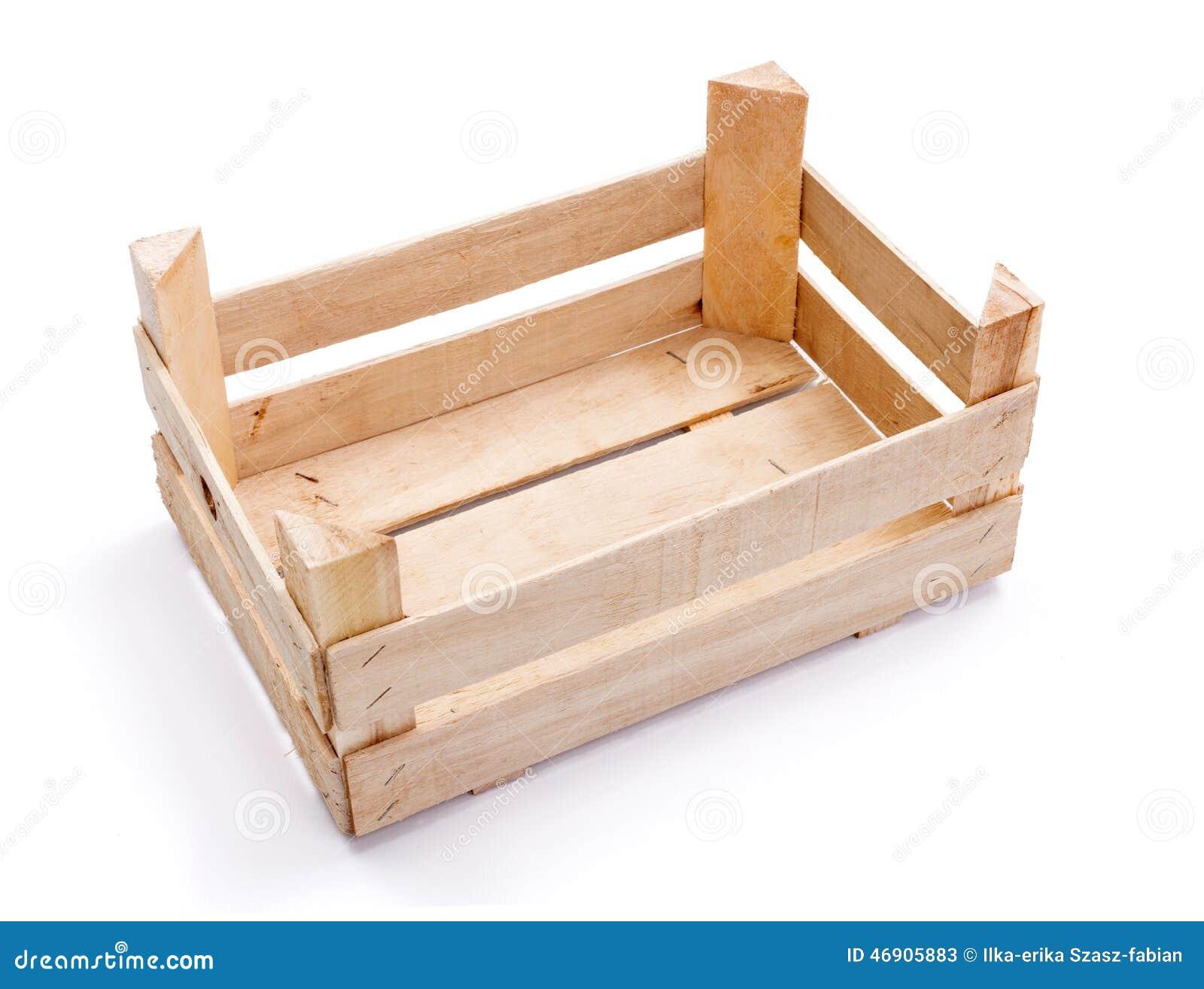 caisse vide pour des fruits et l gumes photo stock image 46905883. Black Bedroom Furniture Sets. Home Design Ideas