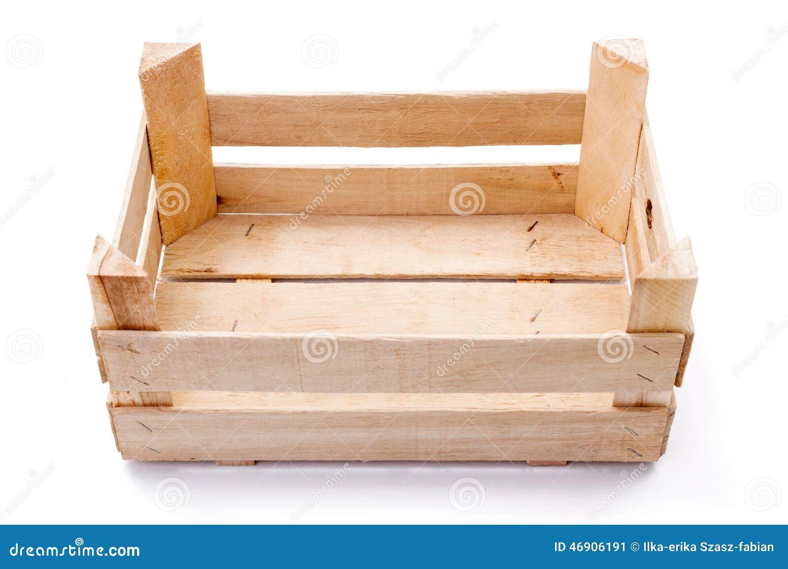 caisse vide pour des fruits et l gumes photo stock image 46906191. Black Bedroom Furniture Sets. Home Design Ideas