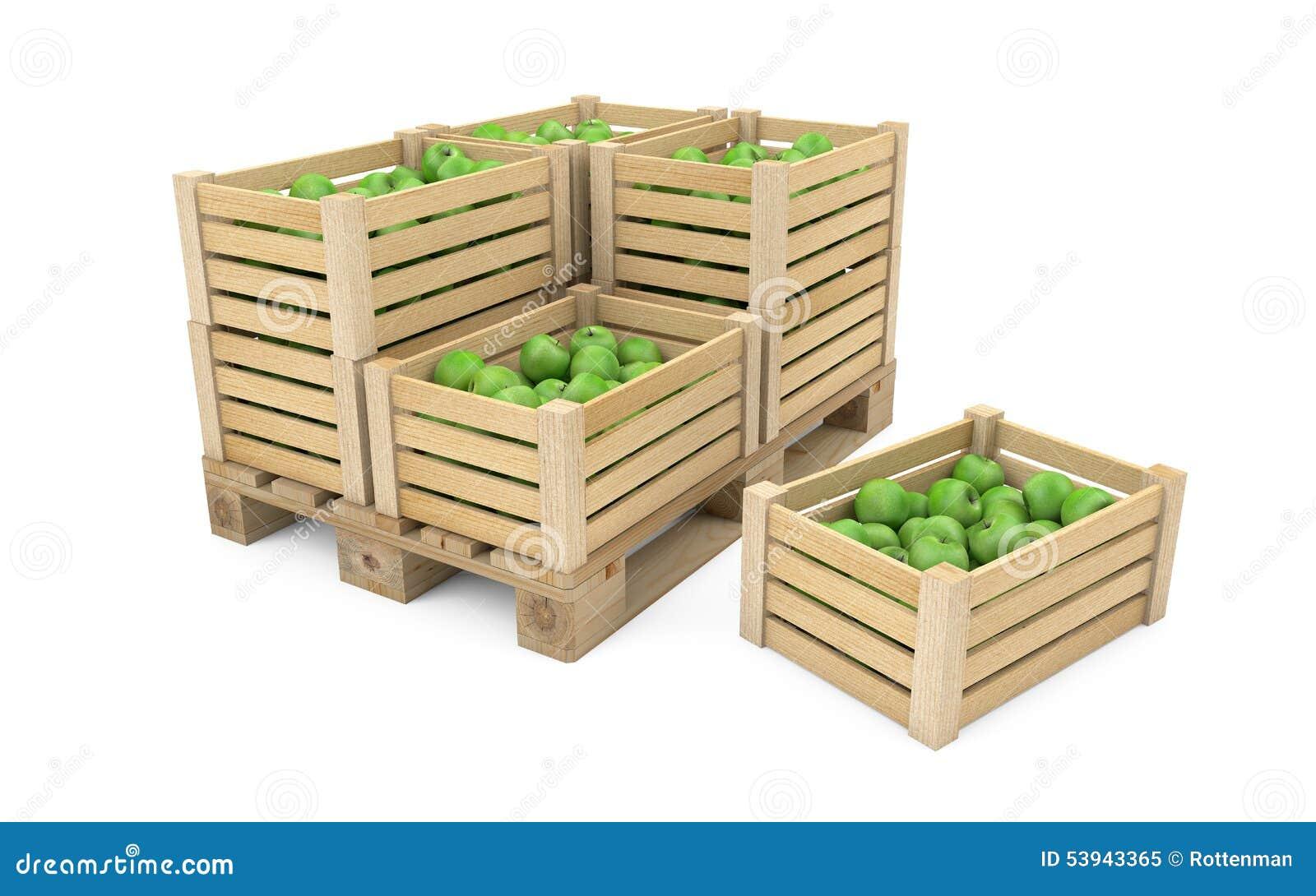 caisse de pommes en bois a vendre. Black Bedroom Furniture Sets. Home Design Ideas