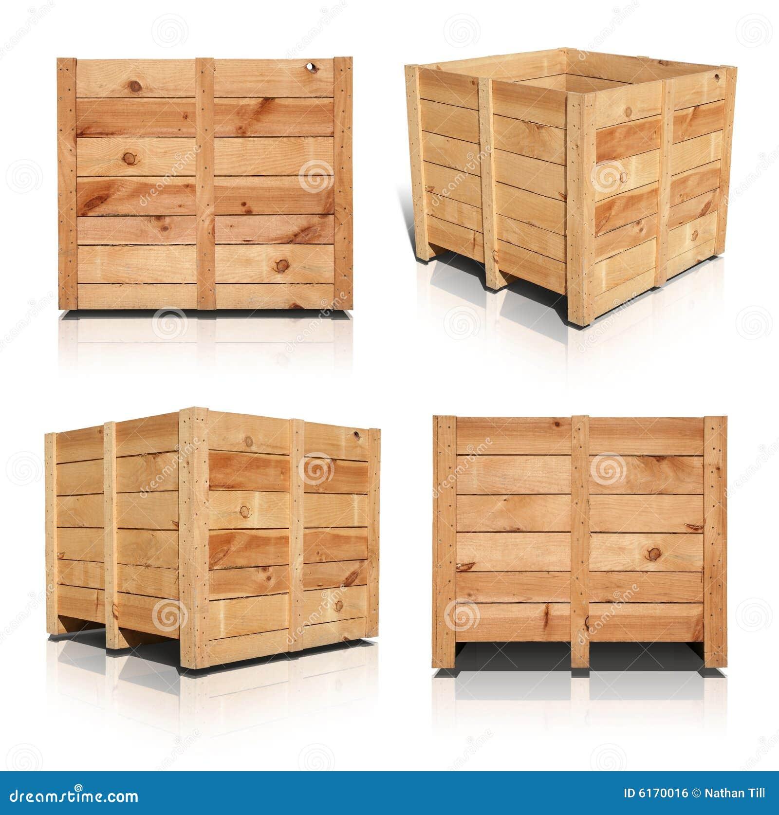 caisses en bois image libre de droits image 6170016. Black Bedroom Furniture Sets. Home Design Ideas