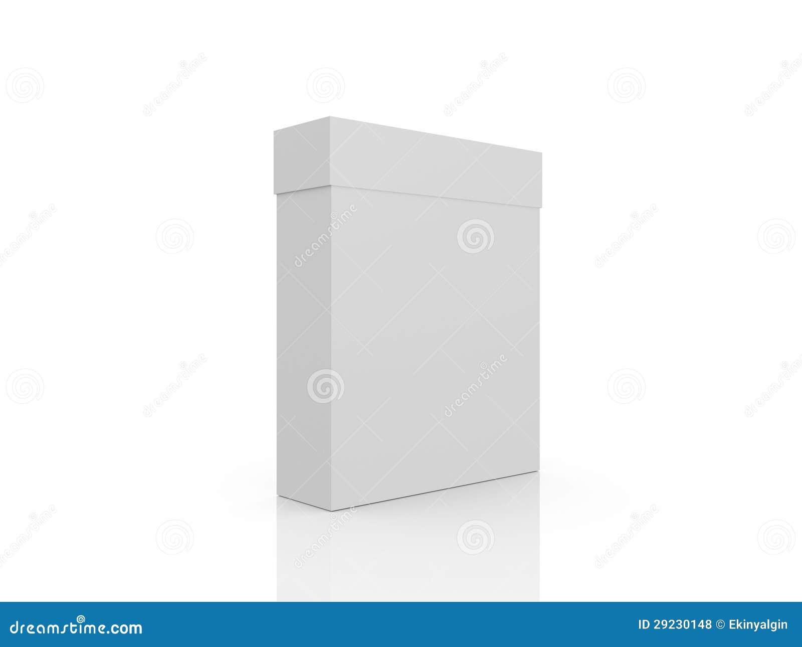 Download Caixa branca fechado ilustração stock. Ilustração de presente - 29230148