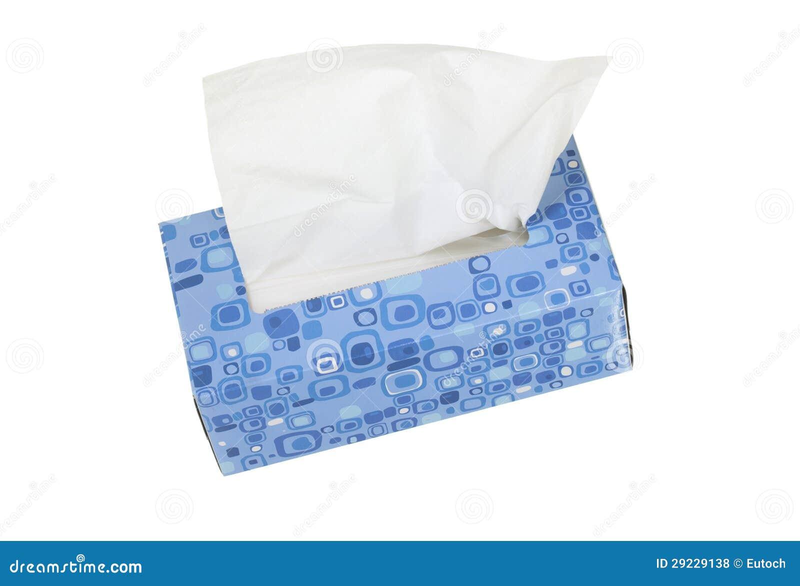 Download Caixa com tecidos faciais foto de stock. Imagem de nathans - 29229138
