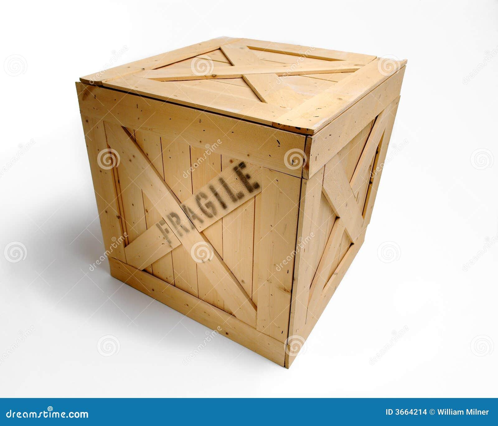 Frágil marcado de madeira da caixa de transporte. #754615 1300x1129