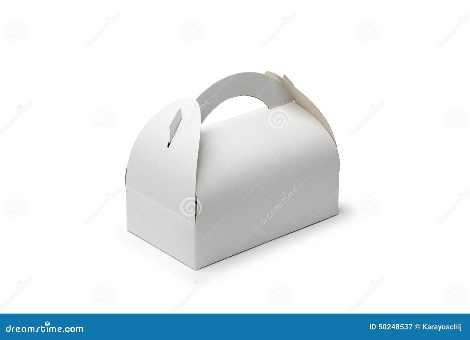 Caixa da pastelaria do cartão