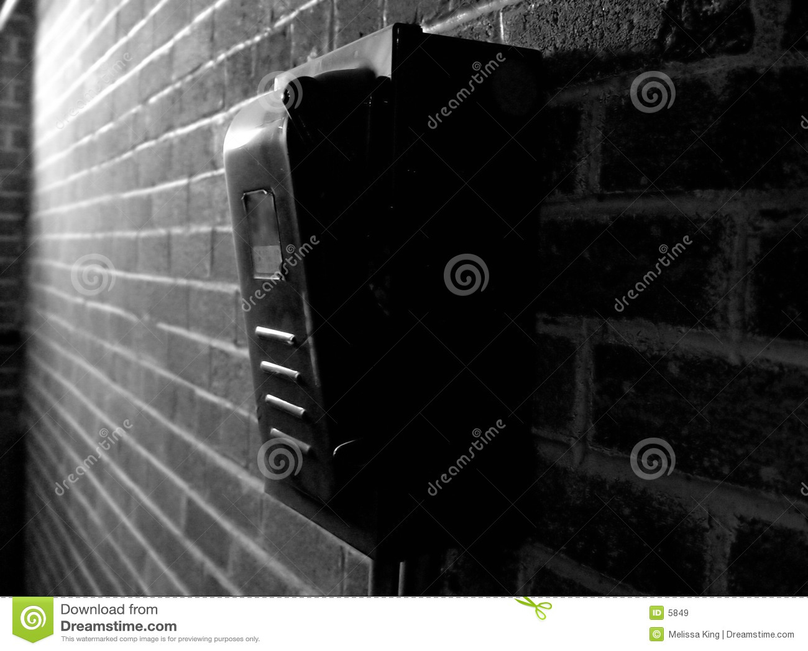 Caixa de interruptor da potência