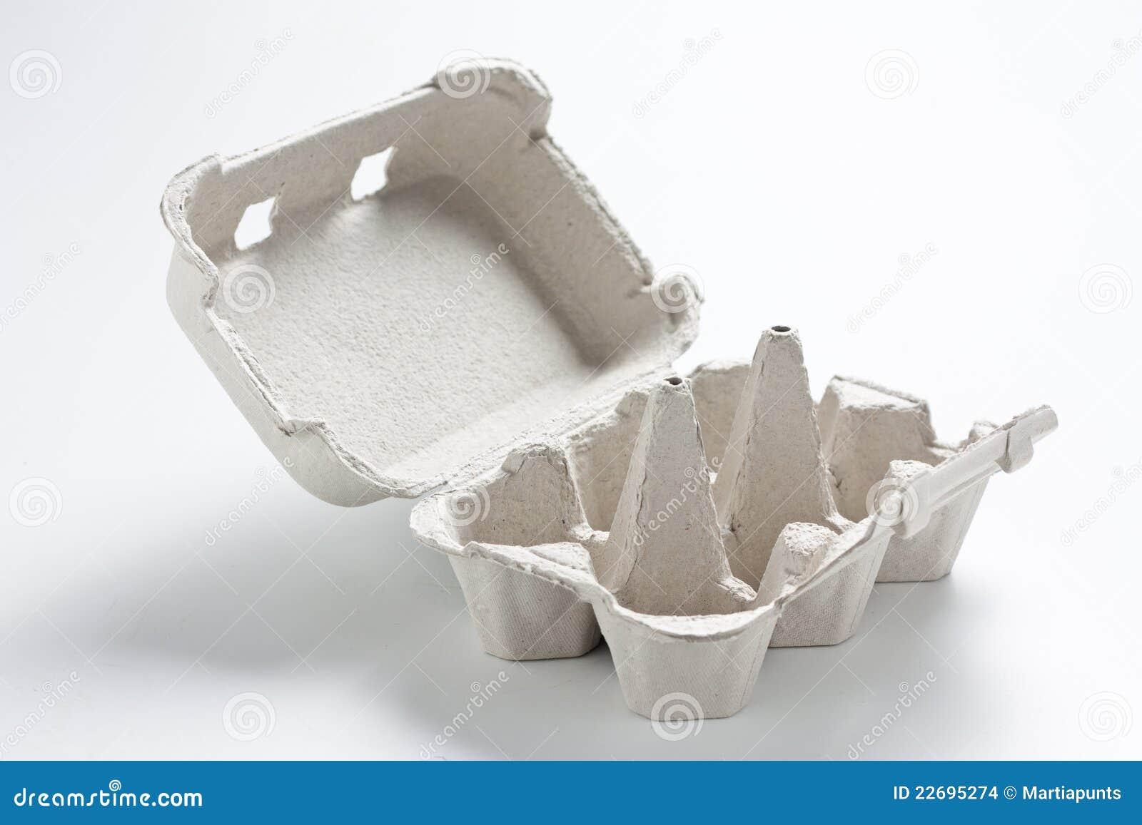 caixa de ovo vazia imagens de stock imagem 22695274. Black Bedroom Furniture Sets. Home Design Ideas