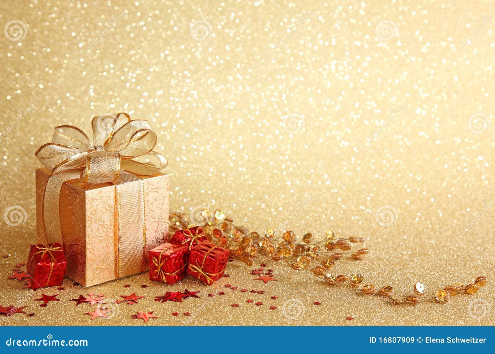 caixa de presente do natal imagem de stock  imagem de festive