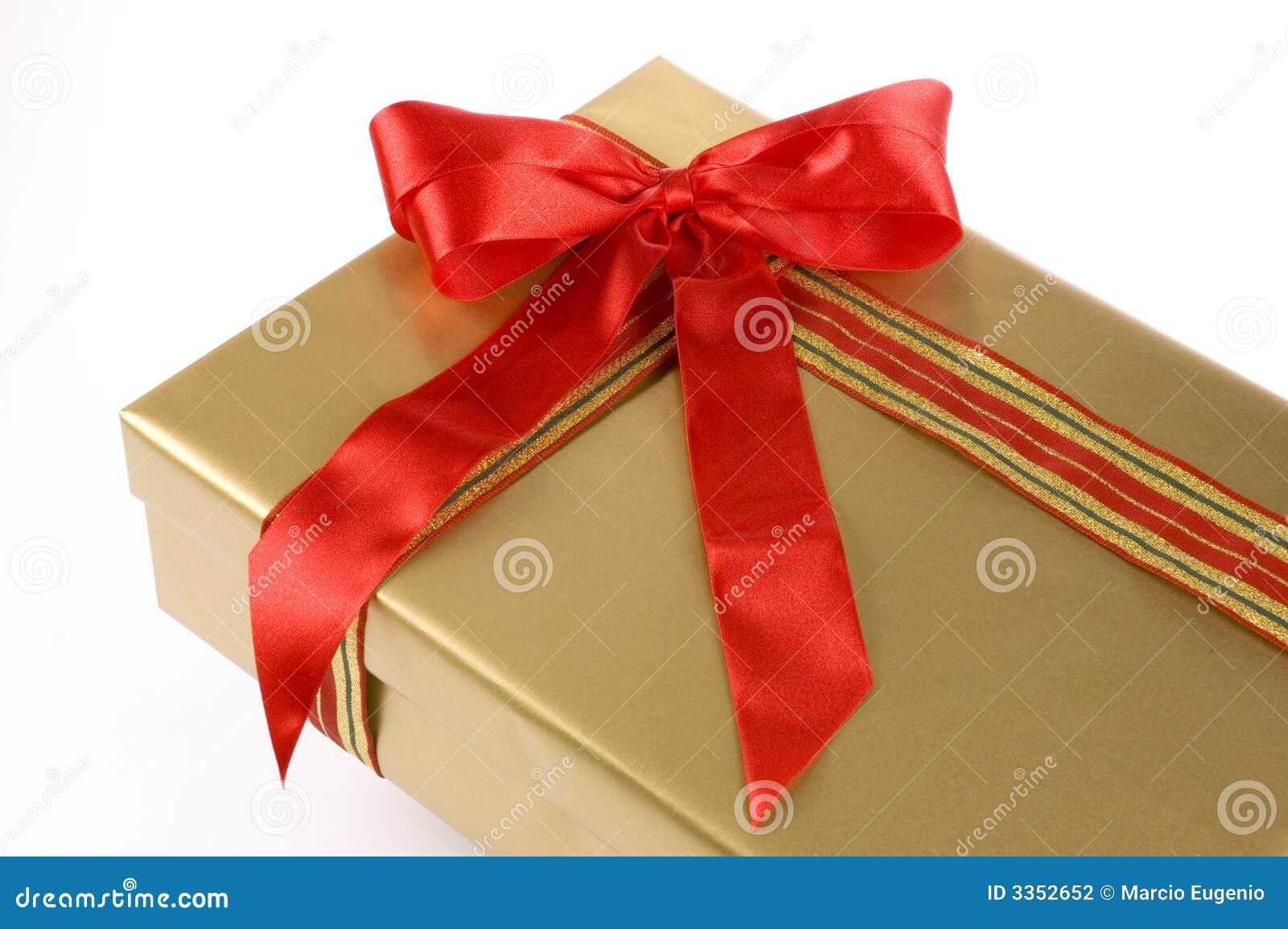 Caixa de presente grande