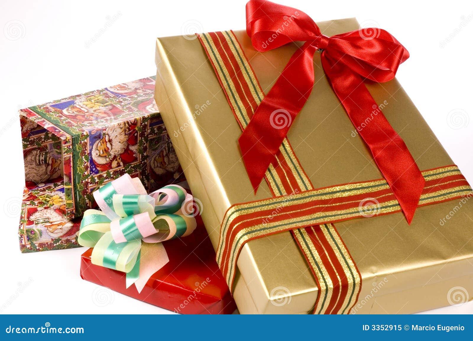 Caixa de presente três
